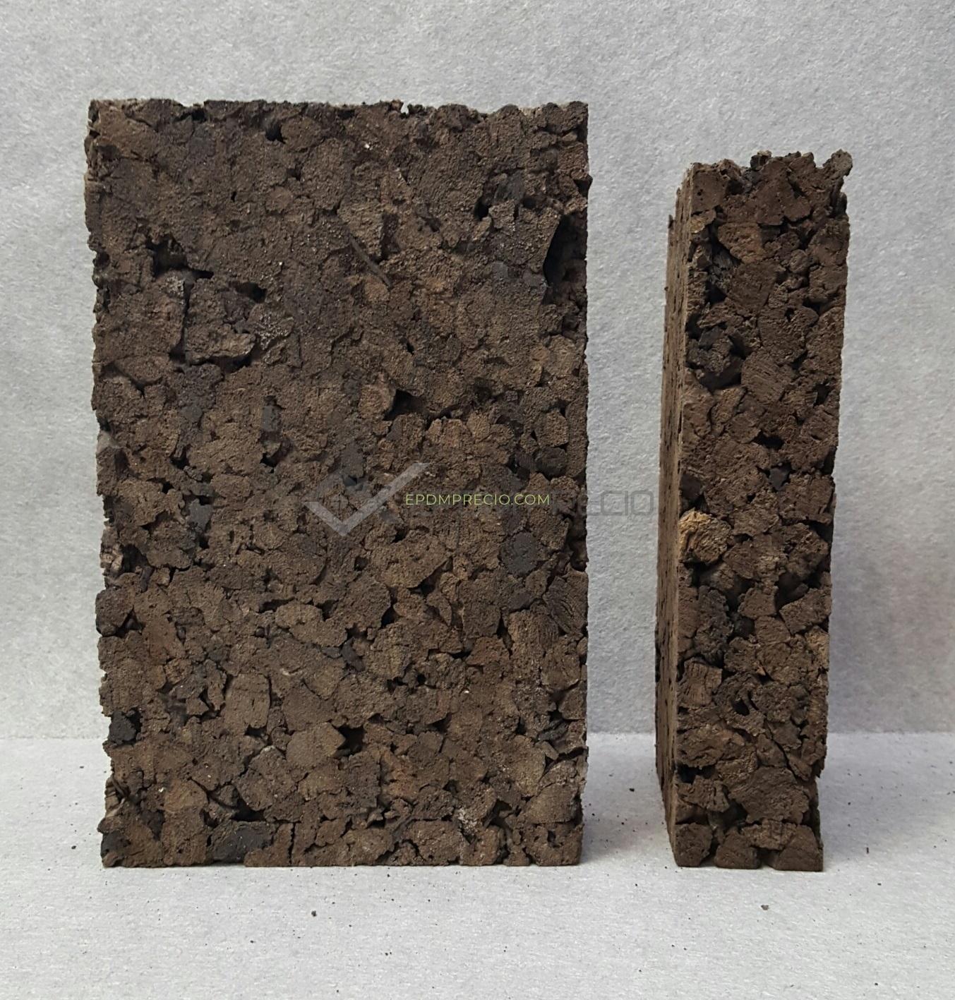 Aislamiento corcho natural en placa 20mm edpm - Corcho aislante precio ...